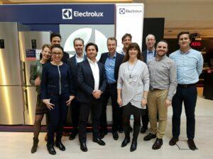Electrolux team