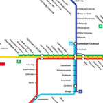 self driving subway map