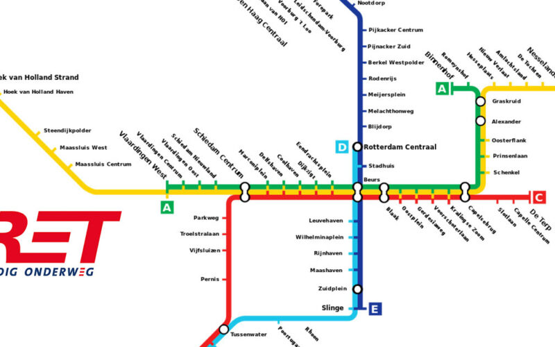 self driving subway map