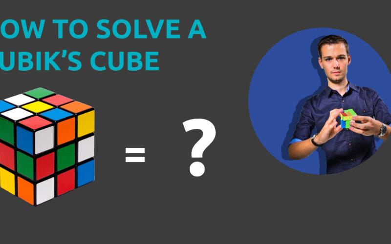 solve a Rubiks cube